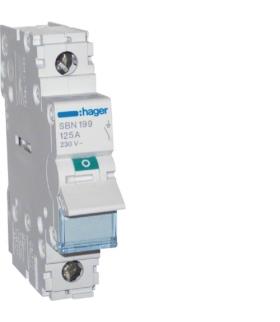 SBN199 Modułowy rozłącznik izolacyjny 1P 125A 230VAC Hager