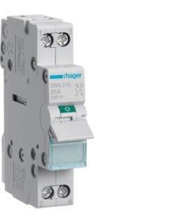 SBN216 Modułowy rozłącznik izolacyjny 2P 16A 230VAC Hager