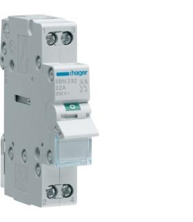 SBN232 Modułowy rozłącznik izolacyjny 2P 32A 230VAC Hager