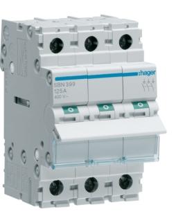SBN399 Modułowy rozłącznik izolacyjny 3P 125A 400VAC Hager