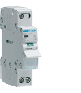 SBT125 Modułowy rozłącznik izolacyjny z lampką sygnalizacyjną 1P 25A 230VAC Hager