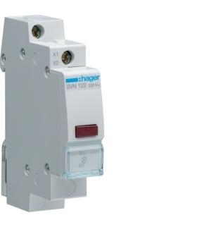 SVN122 Lampka sygnalizacyjna LED czerwona 230VAC  Hager