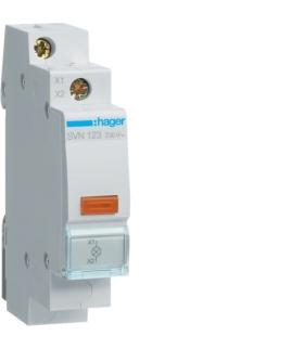SVN123 Lampka sygnalizacyjna LED pomarańczowa 230VAC  Hager