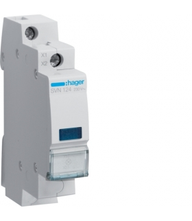 SVN124 Lampka sygnalizacyjna LED niebieska 230VAC  Hager