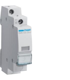 SVN125 Lampka sygnalizacyjna LED przezroczysta 230VAC  Hager