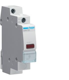SVN132 Lampka sygnalizacyjna LED czerwona 12-48VAC/DC  Hager
