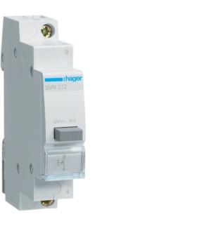 SVN312 Przełącznik przyciskowy 1NO Ith 16A 230VAC Hager