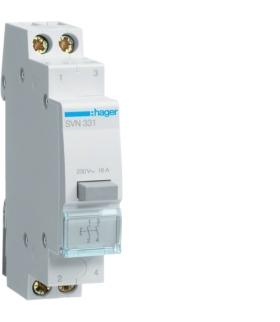 SVN331 Przycisk sterowniczy 2NO Ith 16A 230VAC Hager