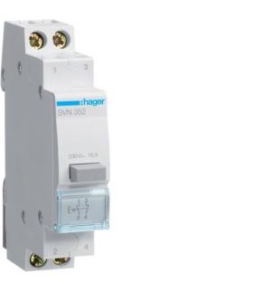 SVN352 Przełącznik przyciskowy 1NO+1NC Ith 16A 230VAC Hager