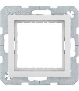 B.Kwadrat Zestaw adaptacyjny do modułów systo 45x45mm, kremowy, połysk Berker 14408982