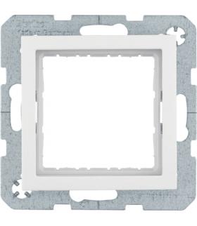 B.Kwadrat Zestaw adaptacyjny do modułów systo 45x45mm, biały połysk Berker 14408989