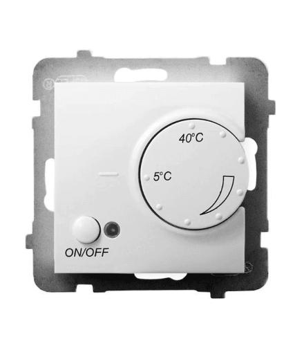 ARIA RTP-1UN/m/00 Regulator temperatury z czujnikiem napowietrznym, BIAŁY