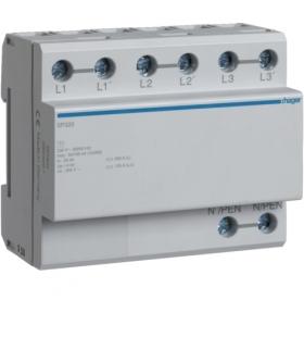SP320 SPD Ogranicznik przepięć T1 3P sieć TN/TT Iimp 100kA Up≤4kV Hager