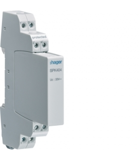 SPK404 SPD Ogranicznik przepięć dla urządzeń 4-20mA 4P Hager