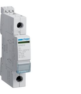SPN113 SPD Ogranicznik przepięć T2 1P sieć IT In 20kA Up≤2kV Hager
