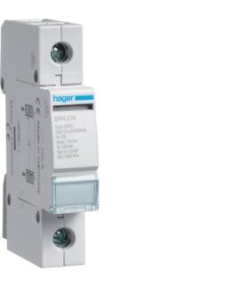 SPN118 SPD Ogranicznik przepięć T2 1P N-PE sieć TT In 20kA Up≤1,5kV Hager