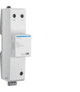 SPN180N SPD Ogranicznik przepięć T1 kombinowany 1P N-PE Iimp 100kA In 100kA Up ≤ 2,5 kV Hager
