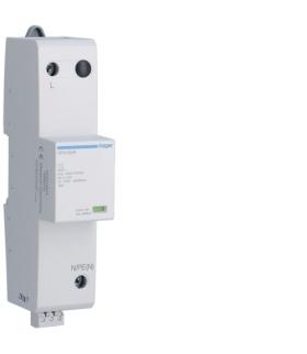 SPN180R SPD Ogranicznik przepięć T1 kombinowany 1P Iimp 25kA In 25kA Up ≤ 1,5 kV styk FM Hager