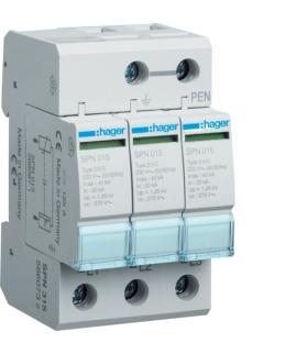 SPN315 SPD Ogranicznik przepięć T2 3P sieć TN-C In 20kA Up≤1,25kV Hager