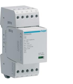 SPN403N SPD Ogranicznik przepięć T3 4P sieć TN-S In 3kA Up≤1,25kV Hager