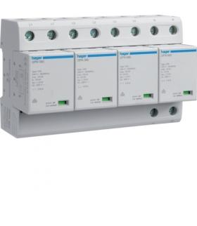 SPN801R SPD Ogranicznik przepięć T1 kombinowany 4P TN-S Iimp 100kA Up≤1,5kV styk FM Hager