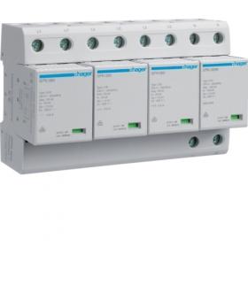 SPN802 SPD Ogranicznik przepięć T1 kombinowany 4P sieć TT Iimp 100kA Up≤1,5kV Hager