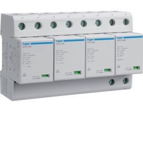 SPN802R SPD Ogranicznik przepięć T1 kombinowany 4P TT Iimp 100kA Up≤1,5kV styk FM Hager