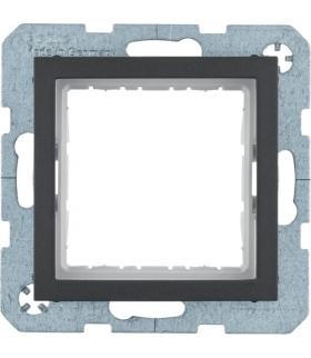 B.x Zestaw adaptacyjny do modułów systo 45x45mm, antracyt, mat Berker 14401606