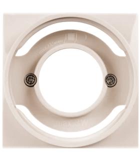 B.Kwadrat Płytka czołowa do sygnalizatora świetlnego E14, kremowy, połysk Berker 5311988982