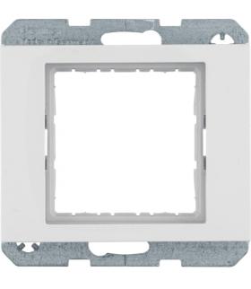 K.1 Zestaw adaptacyjny do modułów systo 45x45mm, biały, połysk Berker 14407009