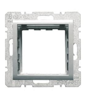 B.Kwadrat/B.7 Zestaw adaptacyjny do modułów systo 45x45mm, alu lakierowany Berker 14401404