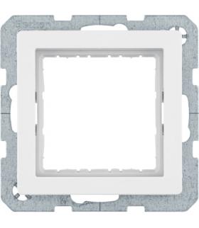 Q.x Zestaw adaptacyjny do modułów systo 45x45mm, biały, aksamit Berker 14406089