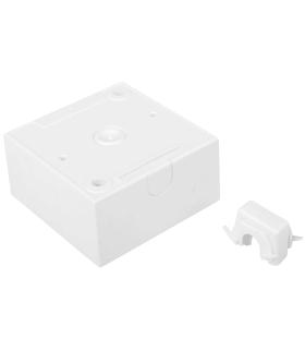 B.Kwadrat Puszka natynkowa 1-krotna, biały, połysk Berker 5310419909