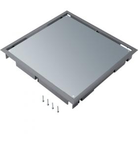 tehalit.VE-EE Pokrywa pełna płytki montaż Q08 294X294 5mm stal szary PA Hager BDQ08057011