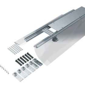tehalit.BK Kanał współpoziomy boczna folia ochronna BKF 150x(65-110)mm stal Hager BKF150065