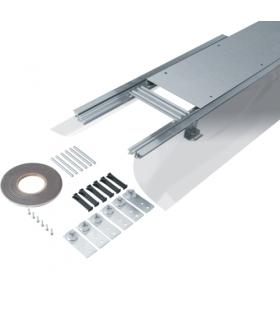 tehalit.BK Kanał współpoziomy boczna folia ochronna BKFD 250x(105-150)mm stal Hager BKFD250105