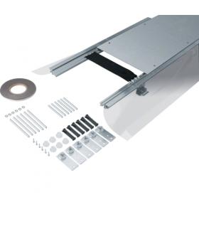 tehalit.BK Kanał współpoziomy boczna folia ochronna BKFD 350x(105-150)mm stal  Hager BKFD350105