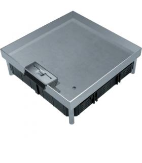 tehalit.VE-EE Pokrywa uchylna EKQ06 200x200 gres/płytka 23/28mm stal nierdzewna  Hager EKQ0600LE1