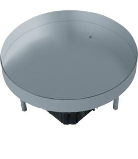 tehalit.VE-EE Pokrywa pełna EKR12 fi306 gres/płytka 23/28mm stal nierdzewna  Hager EKR1200BL1