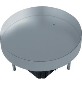 tehalit.VE-EE Pokrywa pełna EKR12 fi306 gres/płytka 38/43mm stal nierdzewna Hager EKR1200BL2