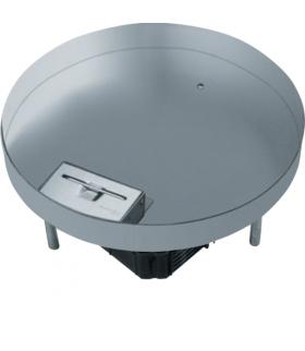 tehalit.VE-EE Pokrywa uchylna EKR12 fi306 gres/płytka 23/28mm stal nierdzewna  Hager EKR1200LE1