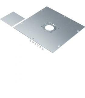 tehalit.UK Pokrywa montażowa dla UD roz.2 GBZ fi50mm stal ocynkowana  Hager UDM2050GBZ