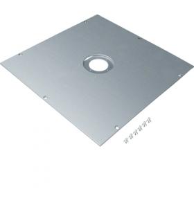 tehalit.UK Pokrywa montażowa dla UD roz.3 GBZ fi50mm stal ocynkowana  Hager UDM3050GBZ