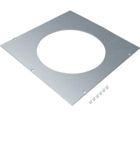 tehalit.UK Pokrywa montażowa dla UD roz.3 R2 fi242mm stal ocynkowana  Hager UDM3242R2