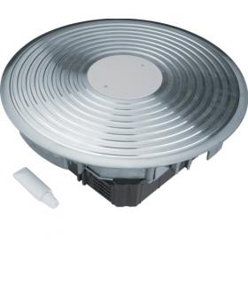 tehalit.VE-EE Podł rowkowy punkt zasilania tubus R12 podłoga podniesiona alu Hager VANR1200