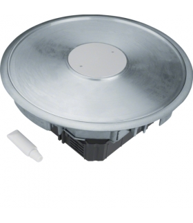 tehalit.VE-EE Podł punkt zasilania tubus R12 3mm podłoga podniesiona alu  Hager VANR12003