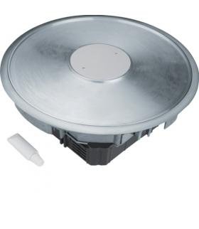 tehalit.VE-EE Podłogowy punkt zasilania tubus R12 3mm puszka podłogowa alu  Hager VANR12013