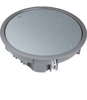 tehalit.VE-EE Pokrywa pełna VDR06 fi215 wykładzina 5mm stal szary PA Hager VDR06057011