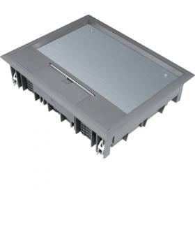 tehalit.VE-EE Pokrywa uchylna VE09 200x253 wykładzina 12mm stal szary PA  Hager VE09127011