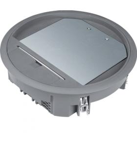 tehalit.VE-EE Pokrywa uchylna VR06 fi215 wykładzina 12mm stal szary PA Hager VR06127011